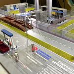 фото Макет заправочной станции