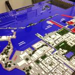 фото Градостроительный макет Кронштадта