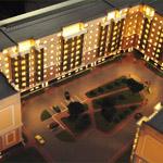 фото Макет жилого комплекса «Новоорловский квартал»
