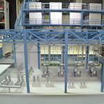 фото Макет складского комплекса