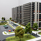 фото Макет жилого комплекса «Гамма»
