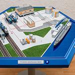 фото Шестиугольный промышленный макет