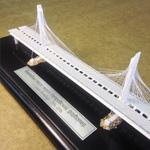 фото Макет вантового моста