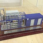 фото Модель установки МПР