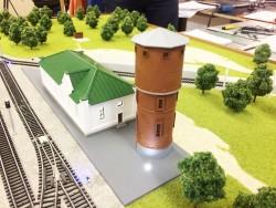 фото Учебный макет ЖД станции