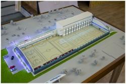 фото Макет спортивного центра