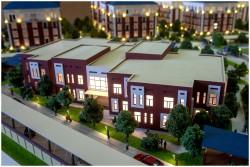 фото Макет элитного жилого комплекса