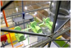 фото Макет технологии производства удобрений