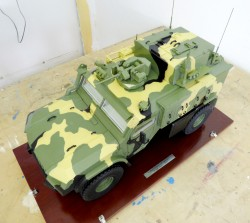 фото Макет колесной машины артиллерии