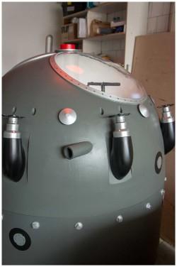 фото Макет первой советской атомной бомбы