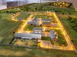 фото Макет фермы