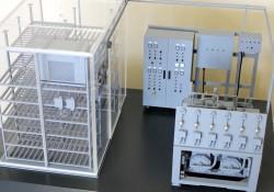 фото Макет холодильной установки