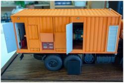 фото Модель Камаза с контейнером
