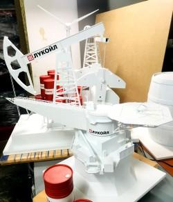 фото Макеты промышленных объектов