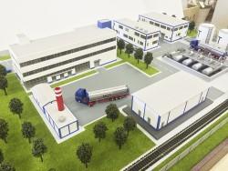 фото Макет промышленного предприятия