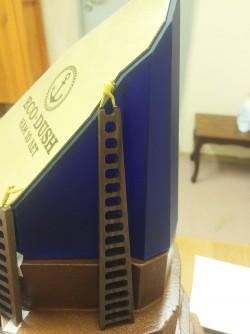фото Макет сувенира из дерева