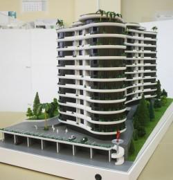 фото Два макета Апарт-отеля